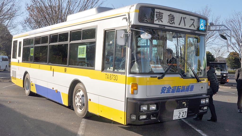 東急バスの「安全運転訓練車」