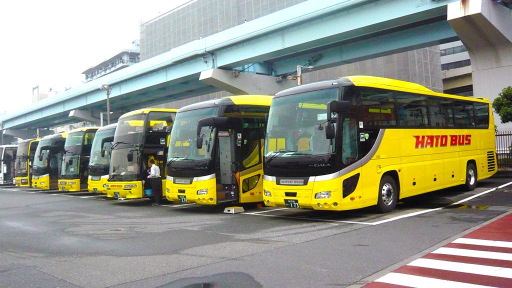 はとバス 74期利用人員が過去3番目