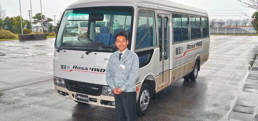 三菱ふそうバス製造 菅野新社長が抱負