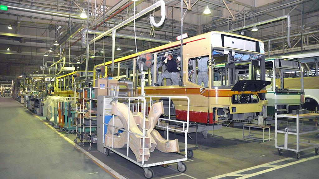 三菱ふそうバス製造