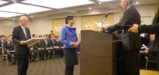 埼バス協 交通安全功労と安全運転 308チームを表彰