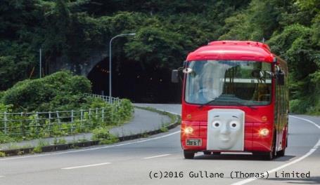2016年から登場の「バスのバーティー」。