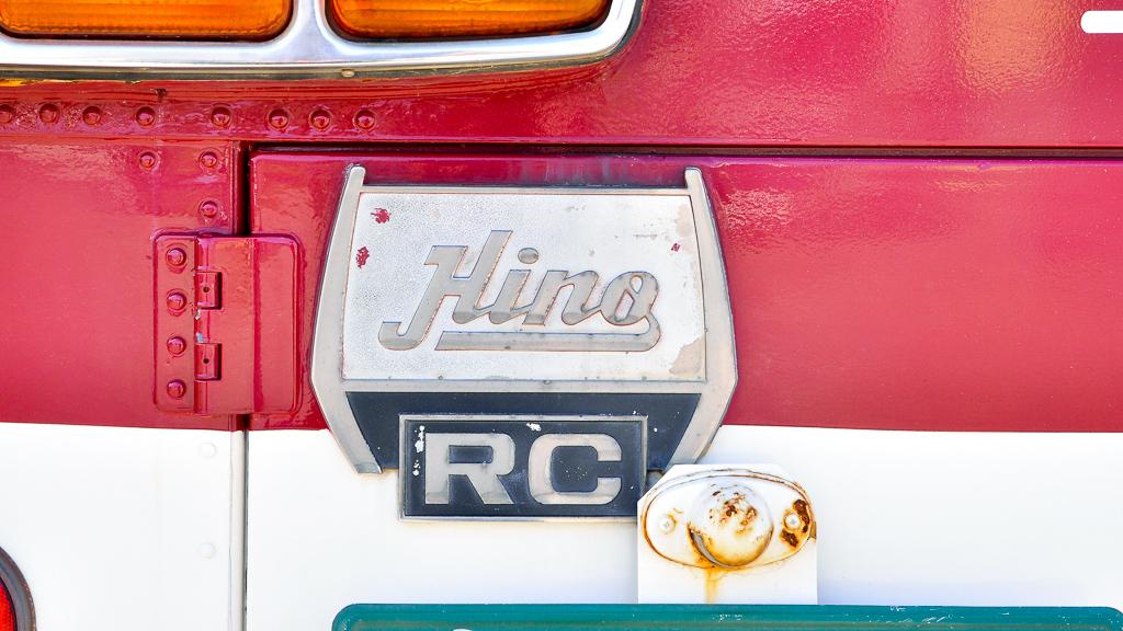 リアのナンバープレートの上部には『RC』のエンブレムが取り付けられている。出自の証しだ。