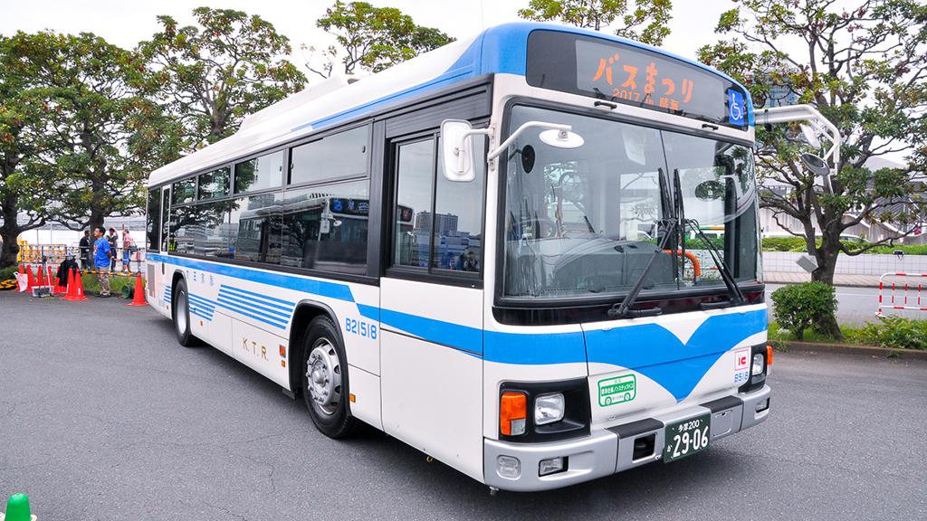 京王バスB21518中央府中営業所 復刻塗装 日野ブルーリボンIIQPG-KV234L3。