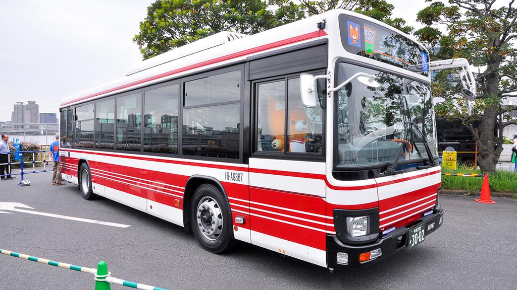 小田急バス16-A9367吉祥寺営業所 いすゞエルガQDG-LV290N1。