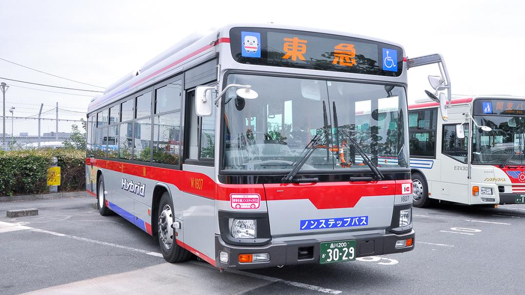 東急バスM1607目黒営業所 日野ブルーリボンQSG-HL2ANAP。