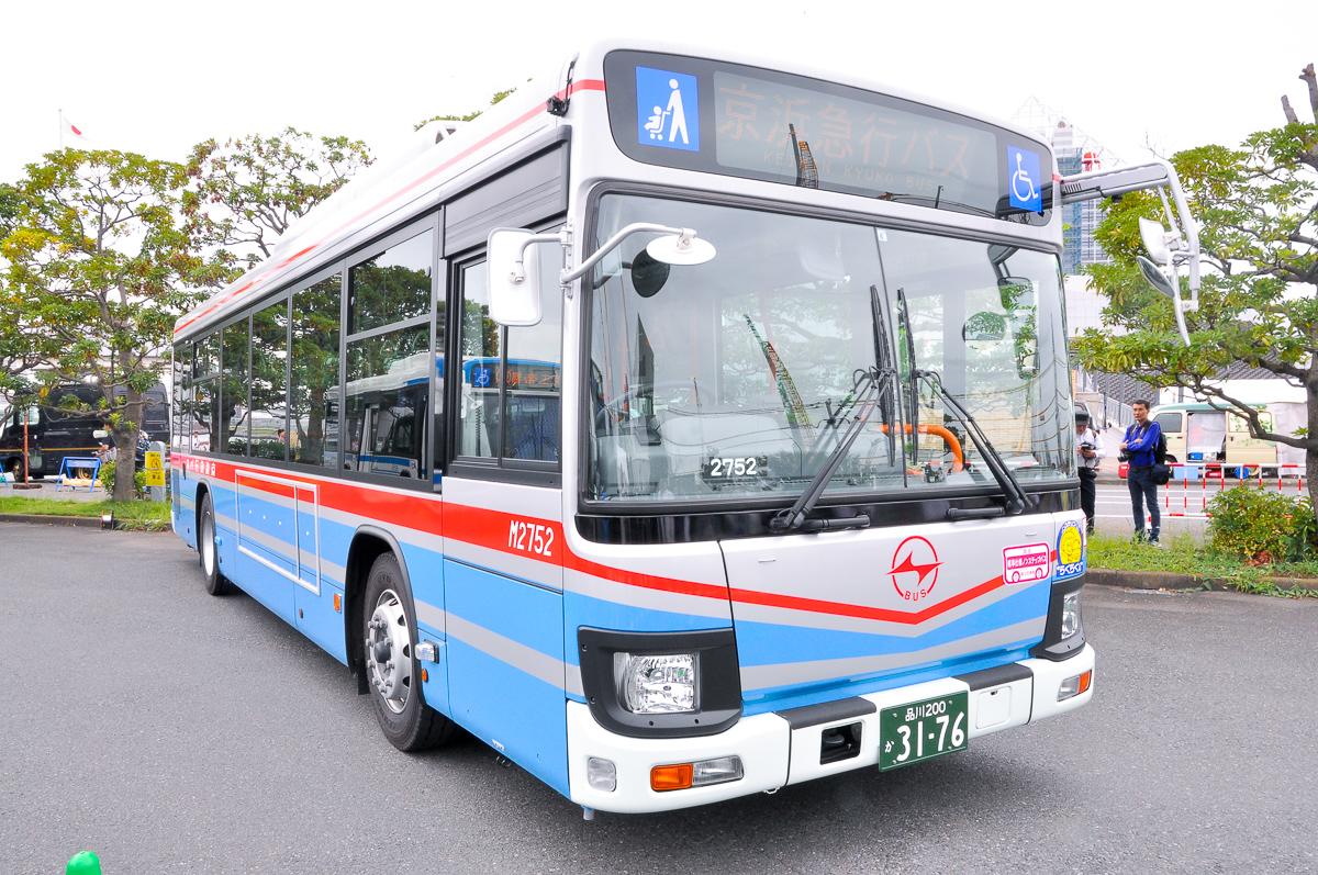 京急バスM2752大森営業所 いすゞエルガQKG-LV290N1。